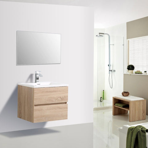 Avia 600 White Oak Timber Vanity By indulge®