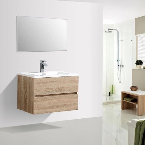Avia 750 White Oak Timber Vanity By indulge®
