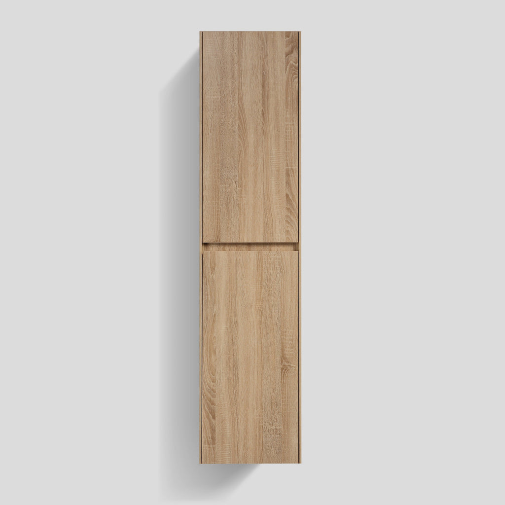 Avia 400 White Oak Timber Tall Boy By indulge®