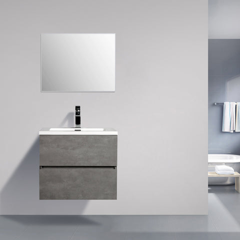 Avia 600 Grey Ash Timber Vanity By indulge®