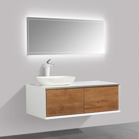 Fiona 1200 Stone F. Oak Timber Vanity By indulge®