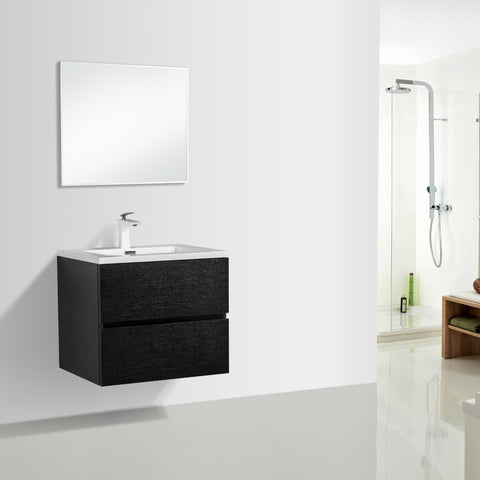 Avia 600 Black Timber Vanity By indulge®