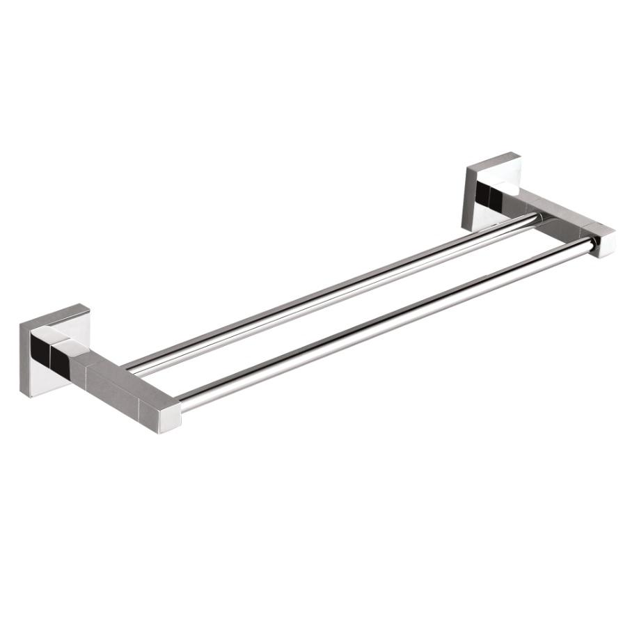 Messina 800  mm Double Towel Rail