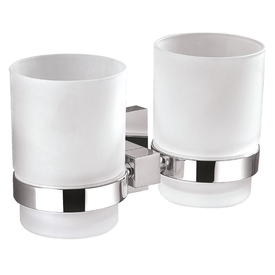 Messina Double Tumbler Toothbrush Holder