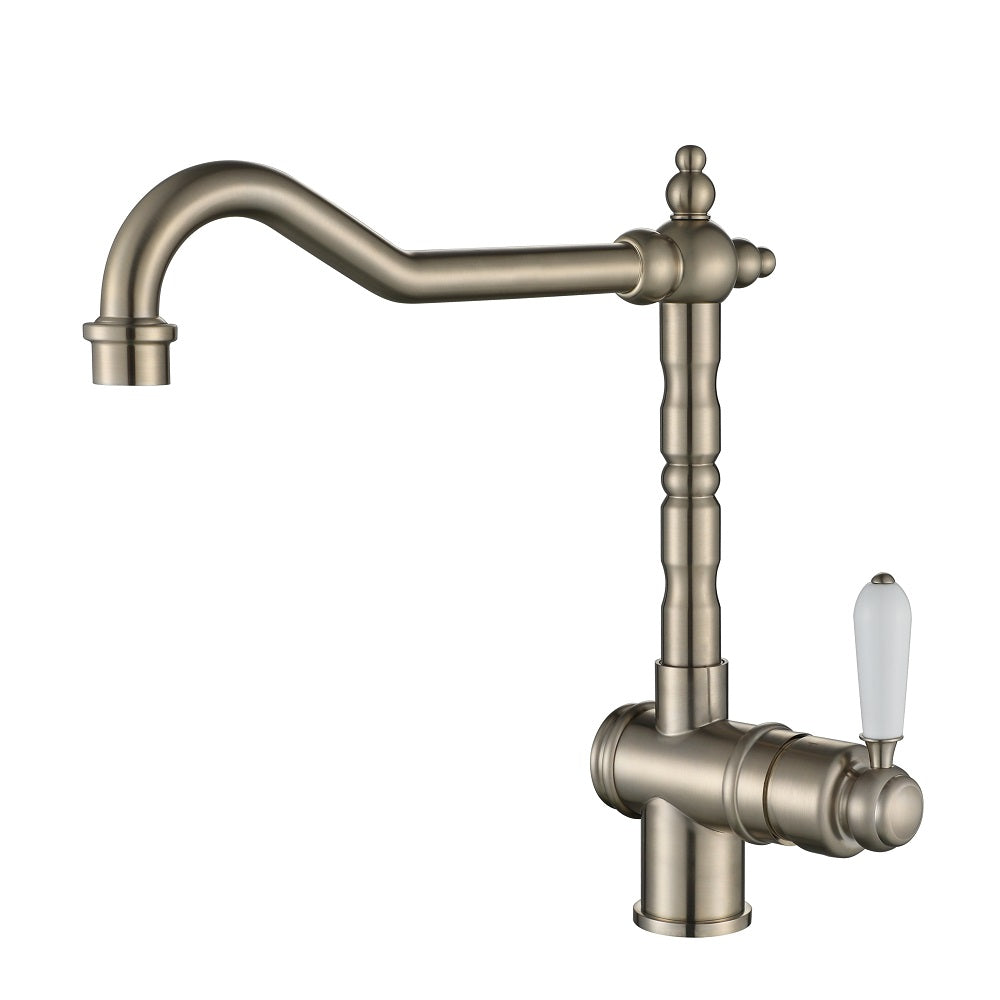Bordeaux Traditional Brushed Nickel Kitchen Mixer