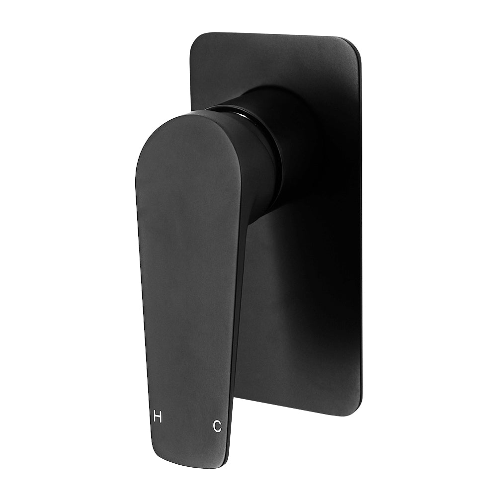 Cascade Matte Black Shower Mixer