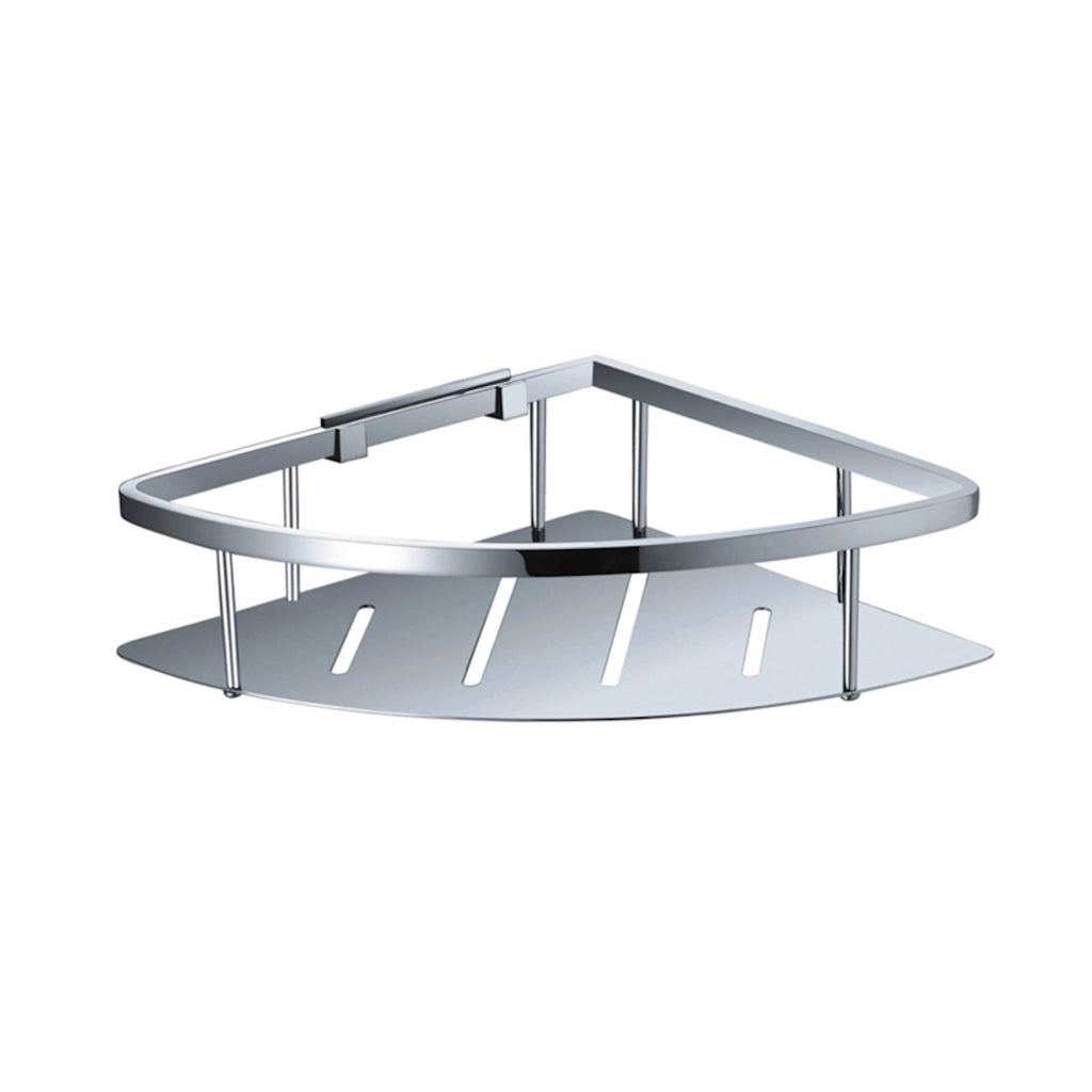 Corner Single Stainless Steel Shelf