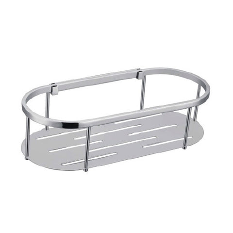 Round Single Stainless Steel Shelf