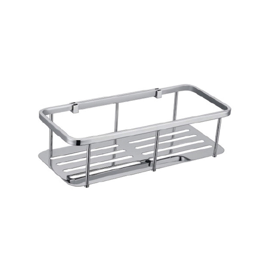 Square Single Stainless Steel Shelf