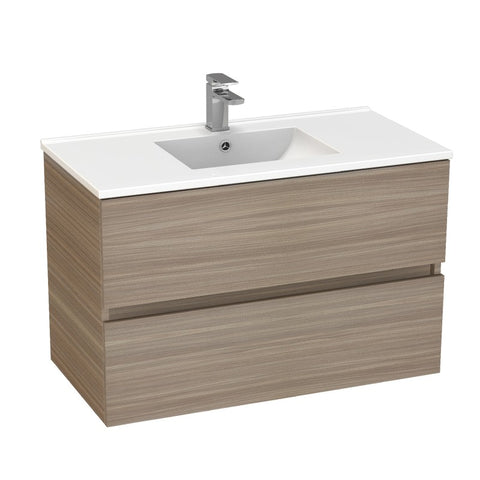 Stella Oak 900 Wall Hung Vanity