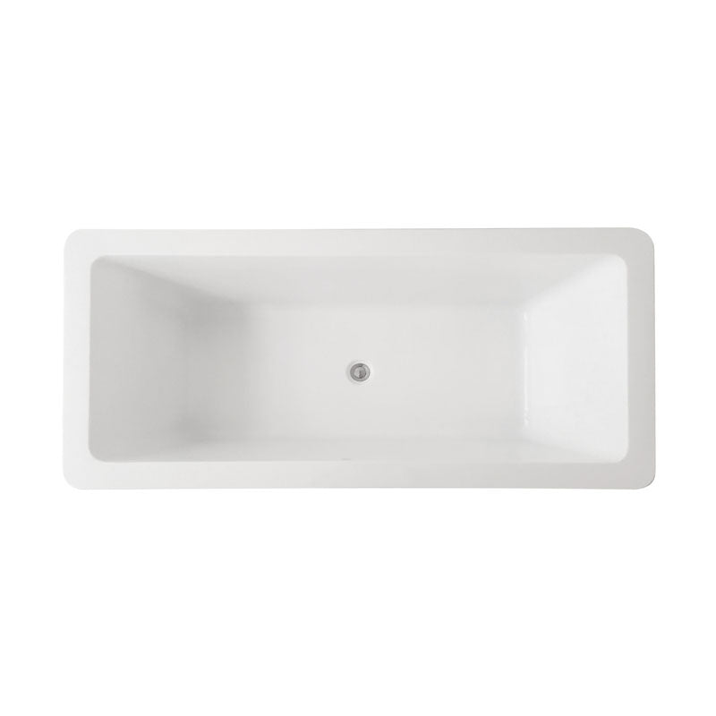 1700 x 789 x 442mm Square Drop in Bath Tub