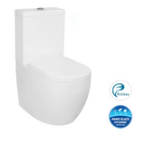 Deluso Rimless Wall Faced Toilet Suite