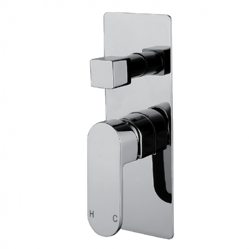 Eva Mini Chrome Wall Diverter