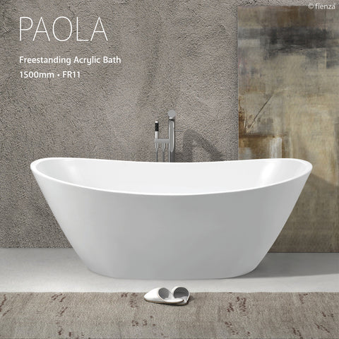 Fienza Paola 1500 Freestanding Bath Tub