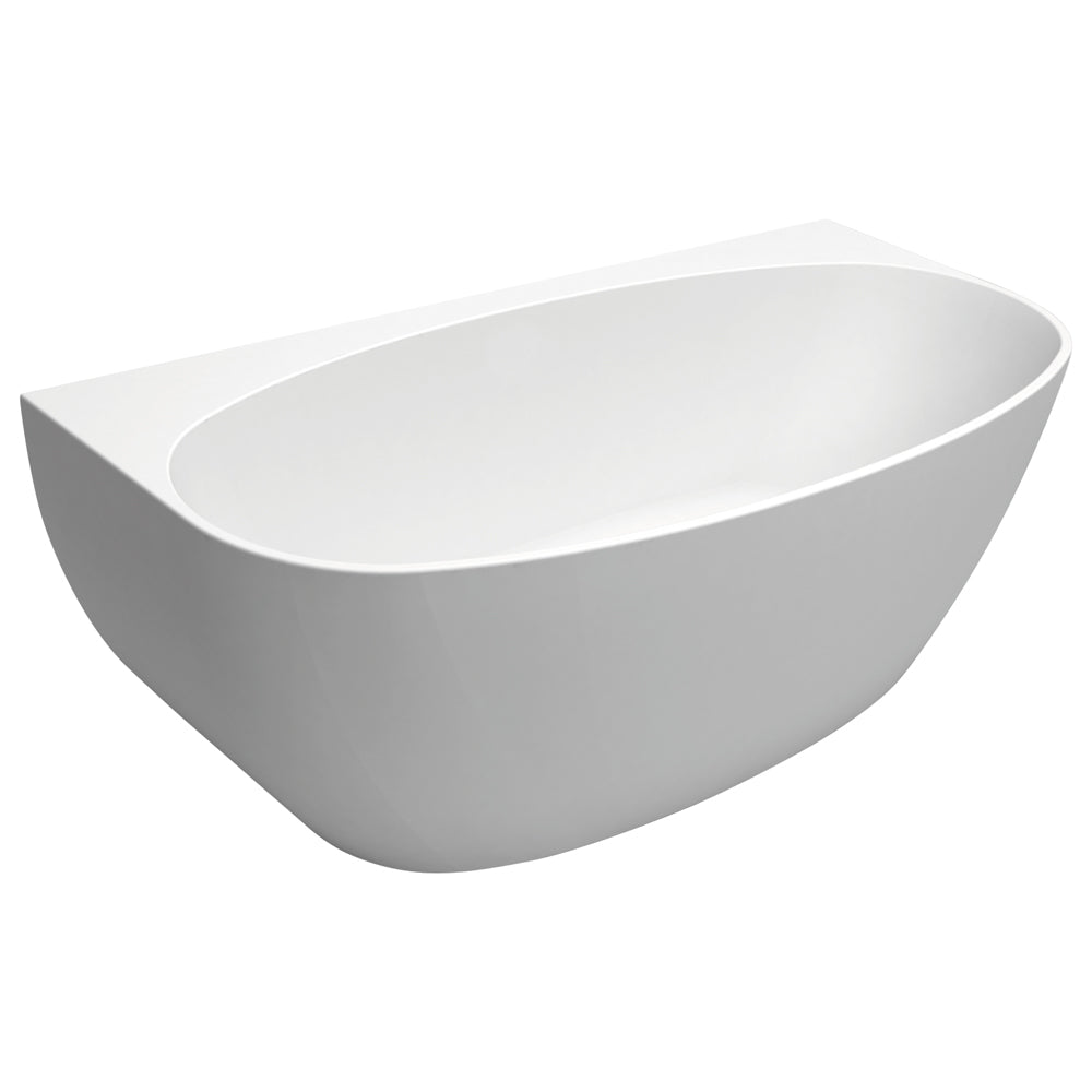Fienza Keeto Back to Wall Freestanding Bath