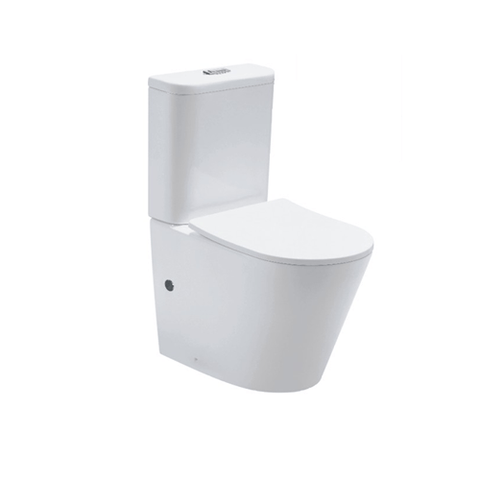 Oasis Rimless Wall Faced Toilet Suite