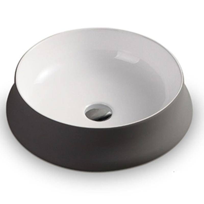 Noflon Grey Above Counter Basin 455 x 455 x 155mm