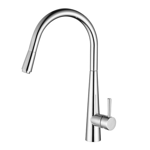 Kasper Chrome Pull Out Kitchen Mixer