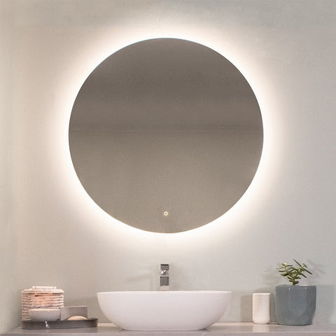 Lamina 800 mm Round LED Mirror By Indulge®