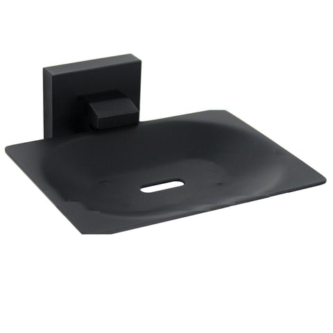 Messina Black Soap Dish Holder