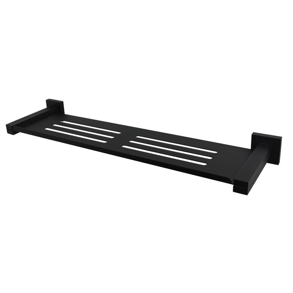 Messina Black 460 mm Shower Shelf