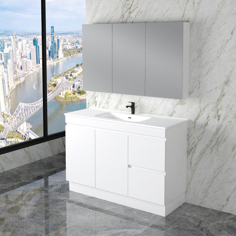 Noah 1200 mm Vanity on kickboard
