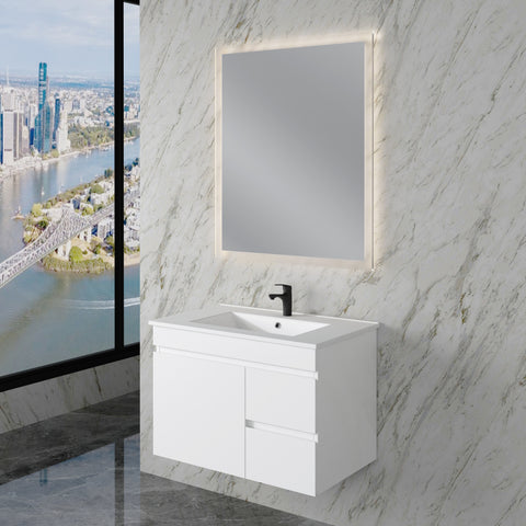 Noah 750 mm Wall Hung Vanity