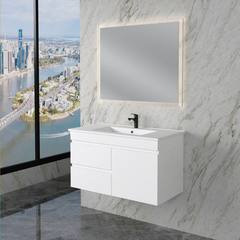 Noah 900 mm Wall Hung Vanity