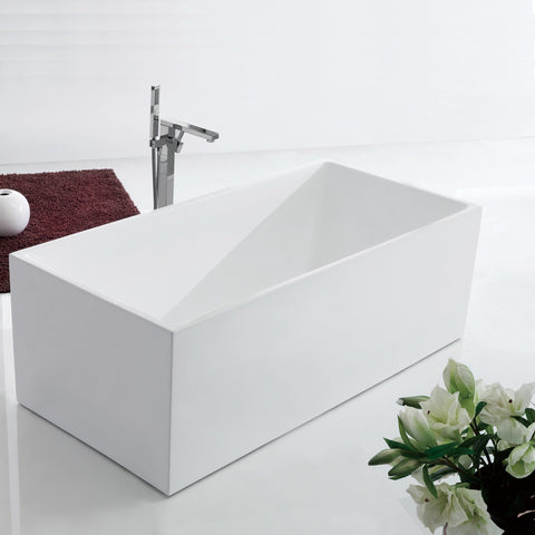 1500 mm Square Multi-fit Freestanding Bath Tub