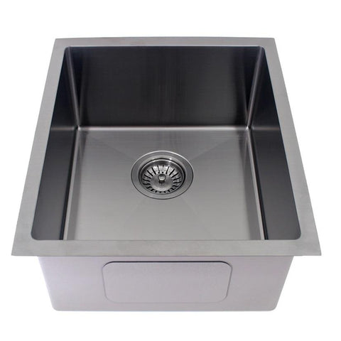 440 x 380 x 200 mm Gun Metal Finish Kitchen Sink