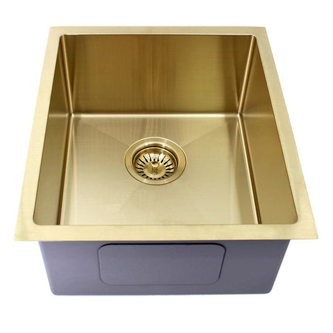 440 x 380 x 200 mm Gold Kitchen Sink