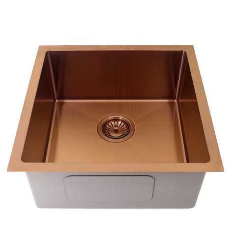 450 x 450 x 200 mm Rose Gold Kitchen Sink