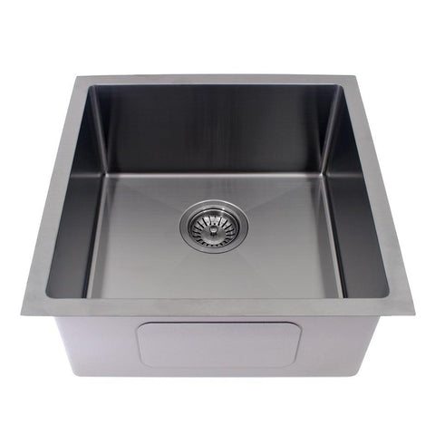 450 x 450  x 200 mm Gun Metal Finish Kitchen Sink