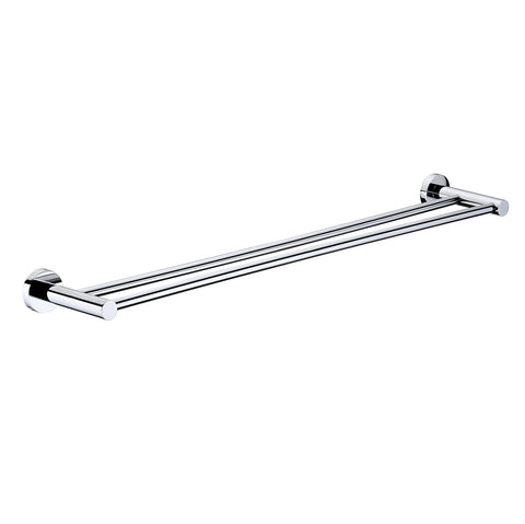 Mirage 600 mm Double Towel Rail