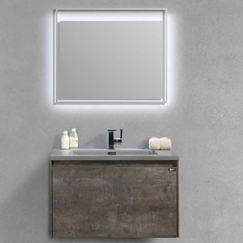 Miera 900 mm LED Mirror By Indulge