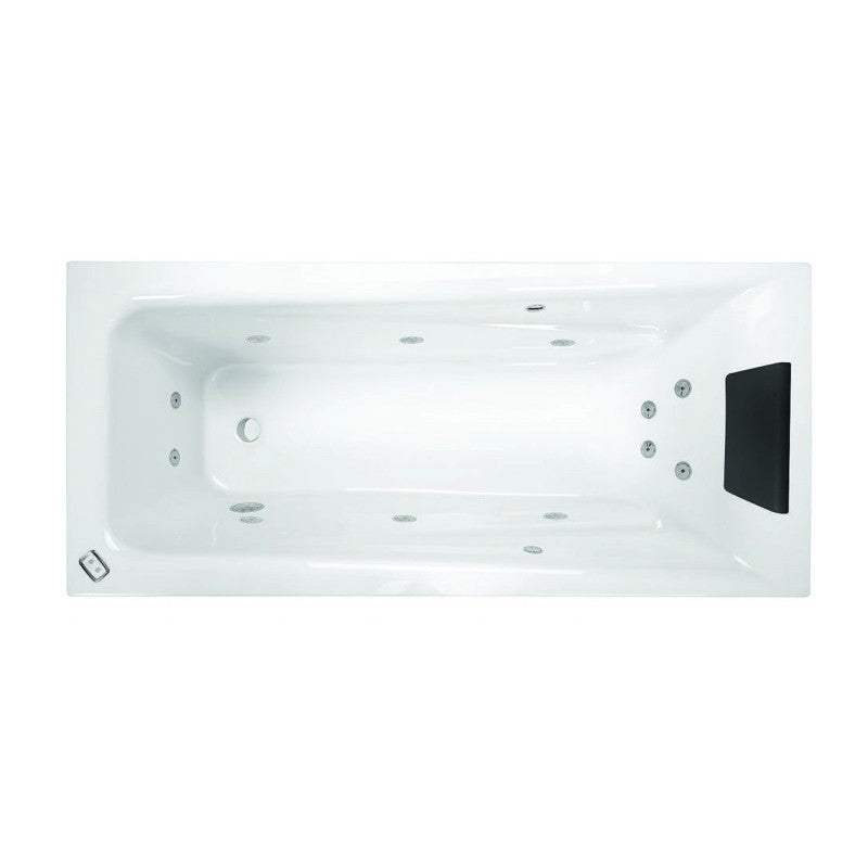 1653 x 723 x 435 mm Novara Spa Bath
