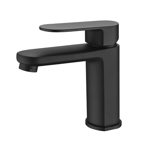 Cora Matte Black Basin Mixer