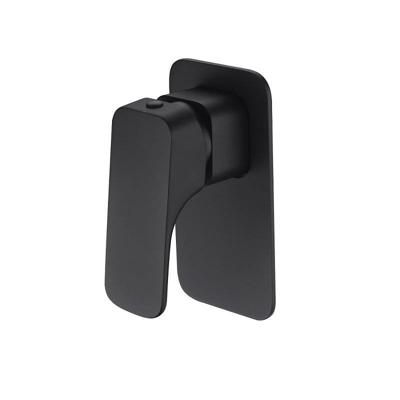 Eden Matte Black Wall Mixer