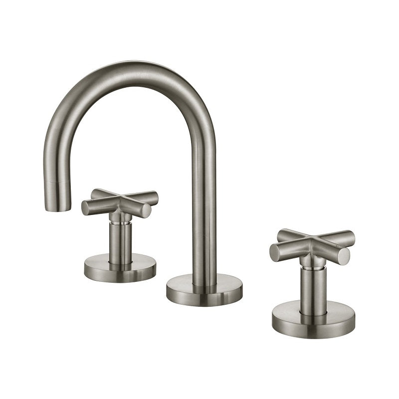 Ryker Brushed Nickel Basin Set 1/4 Turn