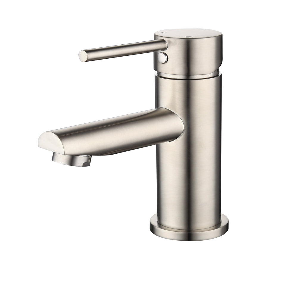 Benalla Brushed Nickel Basin Mixer