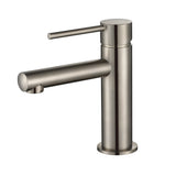 Star Mini Brushed Nickel Basin Mixer