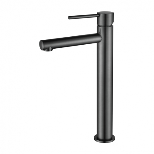 Star Mini Gun Metal Grey Tall Basin Mixer