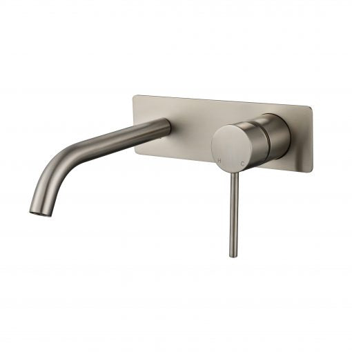 Star Mini Brushed Nickel Basin Mixer Combination