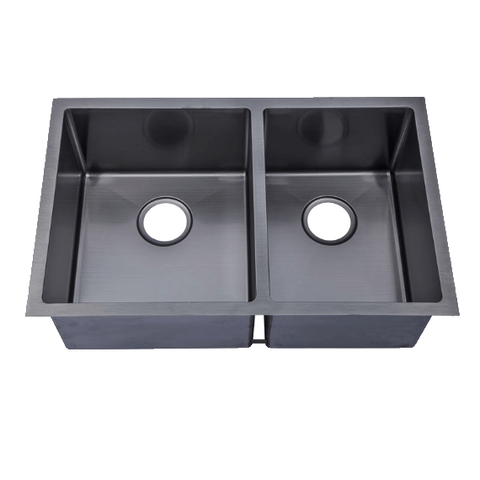 760 x 440 x 230 mm Black Kitchen Sink