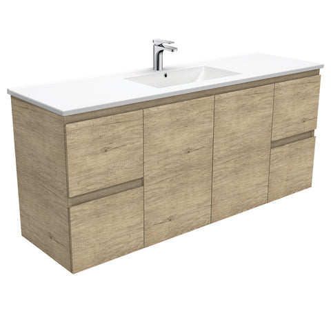 Dolce Edge Scandi Oak 1500 Vanity