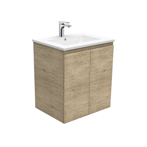 Dolce Edge Scandi Oak 600 Vanity