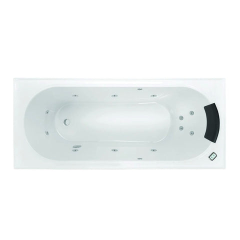 1665 x 755 x 445 mm Turin Spa Bath