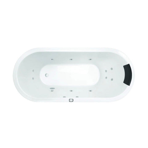 1530 x 750 x 480 mm Uno Contour Spa Bath
