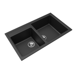860 mm Vivaldi Black Granite Kitchen Sink