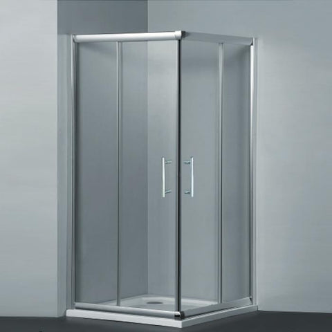Square Sliding Framed Shower Screen